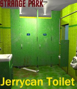 Strange Park - Jerrycan Toilet