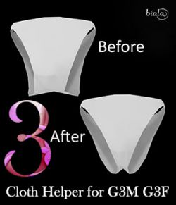 Cloth Helper for G3F and G3M
