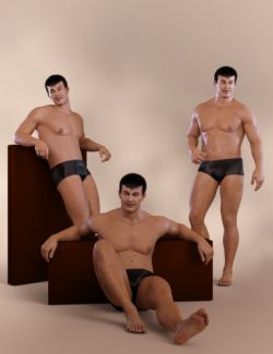 Casual Poses for Vladimir 8 and Genesis 8 Male