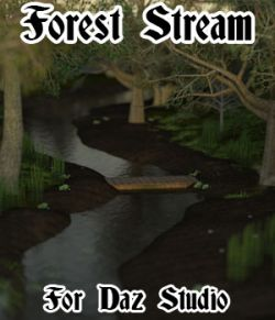 Forest Stream for Daz