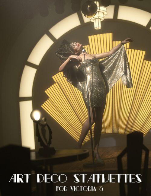 Jepe's Art Deco Statuettes for Victoria 8