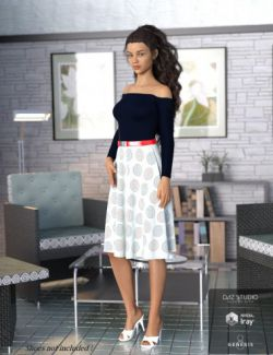 dForce Summer Fashion Outfit for Genesis 8 Female(s)