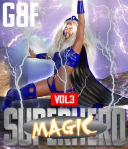 SuperHero Magic for G8F Volume 3
