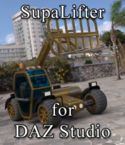 SupaLifter - for DAZ Studio
