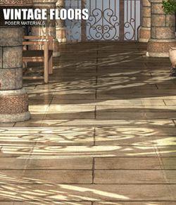 Poser- Vintage Floors