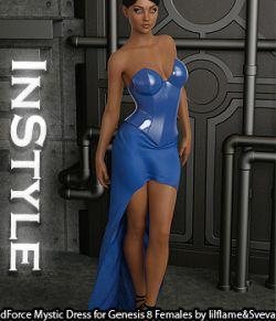 InStyle - dForce Mystic Dress for Genesis 8 Females
