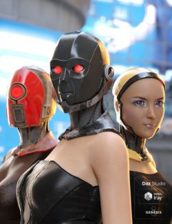 ArcTek Cybernetic Heads for Genesis 8 Female