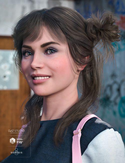 Innocent Hair for Genesis 8 Female(s)