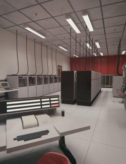 Retro Server Room