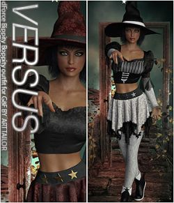 VERSUS - dForce Bippity Boppity outfit for G8F