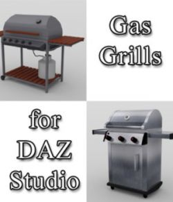 Gas Grills - for DAZ Studio