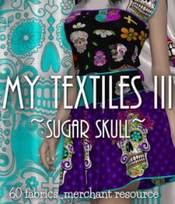 My Textiles III__Sugar Skull_MR