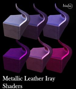 Metallic Leather Shaders