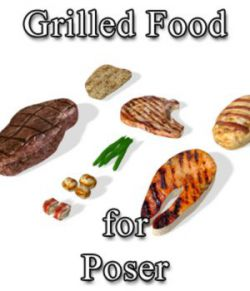 Grilled Food (for Poser)