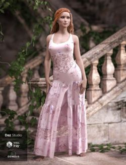 Darling Dress for Genesis 3 and 8 Female(s)