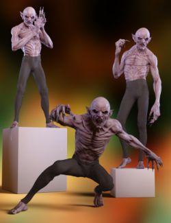 The Count Poses and Expressions for Genesis 8 Male(s)