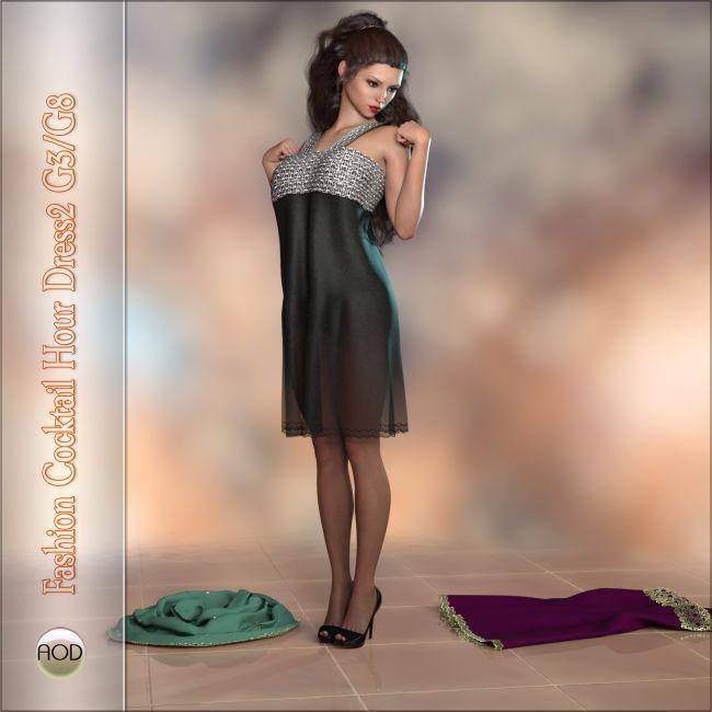 Fashion: Cocktail Hour Dress2 G3F G8F
