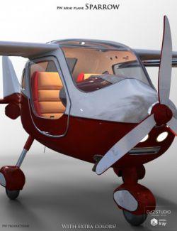 PW Mini Plane Sparrow
