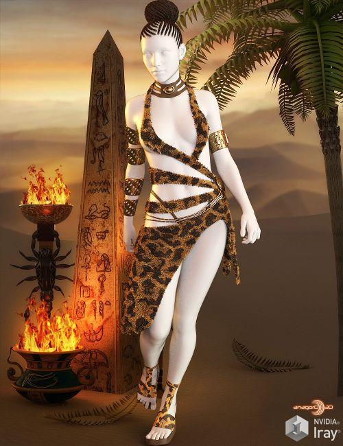 HEROINE - Exnem Shaman Outfit for G3 Female