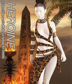 HEROINE- Exnem Shaman Outfit for G3 Female