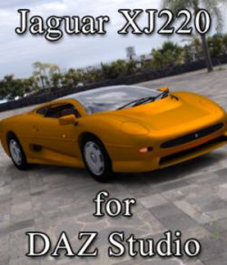 Jaguar XJ 220 (for DAZ Studio)
