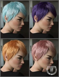 OOT Hairblending 2.0 Texture XPansion for Rose Hair
