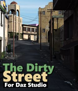 The Dirty Street for DS Iray