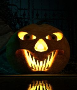Morphable Halloween Pumpkin