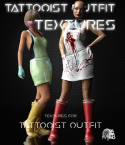 Tattooist Outfit Textures