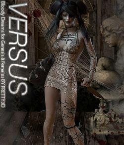 VERSUS - Bloody Dreams for Genesis 8 Females