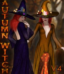 Dynamic Collection- Autumn Witch V4