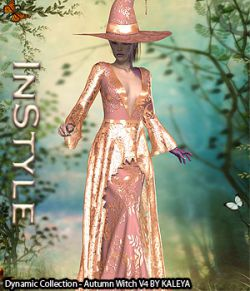 InStyle- Dynamic Collection- Autumn Witch V4
