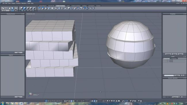Submerged inside Hexagon and Daz Studio - Part 1: Modeling the Rocks