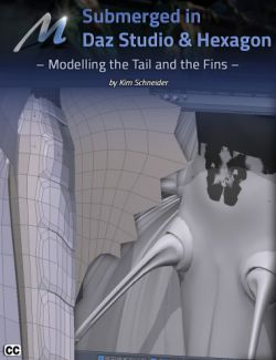 Submerged inside Hexagon and Daz Studio- Part 2: Modeling the Tail and the Fins