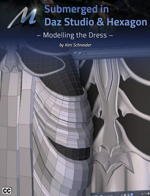 Submerged inside Hexagon and Daz Studio - Part 3: Modeling the Dress
