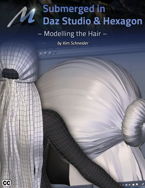 Submerged inside Hexagon and Daz Studio - Part 4: Modeling the Hair