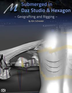 Submerged inside Hexagon and Daz Studio- Part 5: Geografting and Rigging Aguja