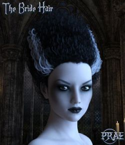 Prae-The Bride Hair G3/G8 Daz