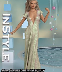 InStyle- dForce- Romance Dress for G8F