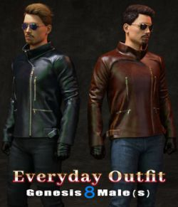 Everyday Outfit for Genesis 8 Males