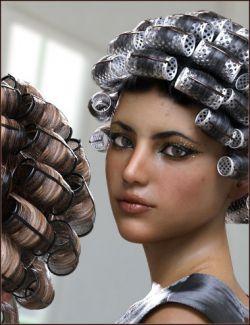 Curler Hair for Genesis 8 Female(s)