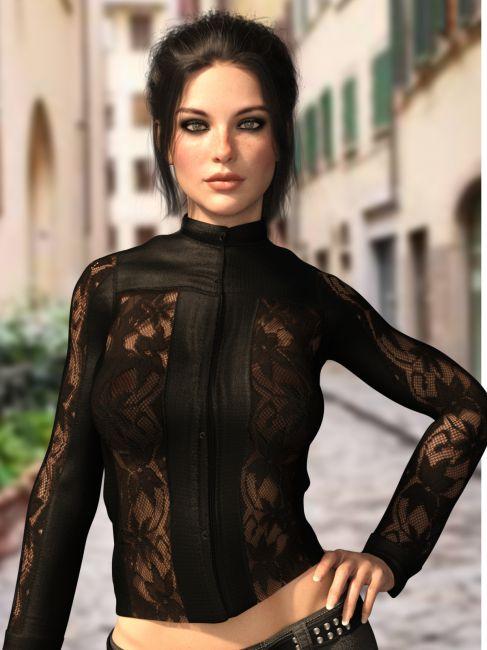 X-Fashion L&L Jacket for Genesis 8 Females
