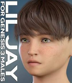 Lil Jay for Genesis 3 Males