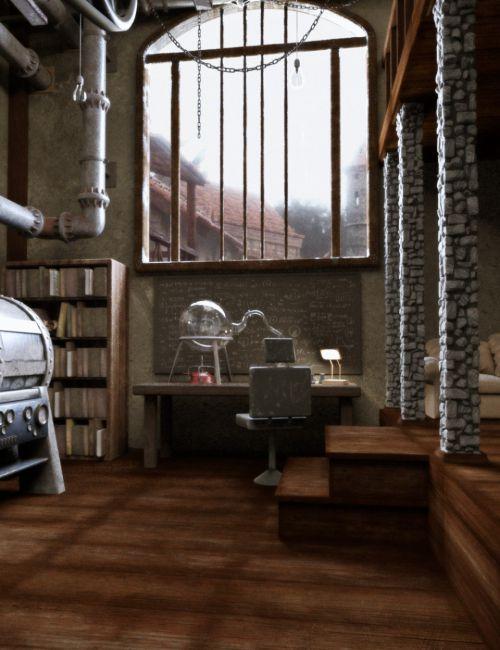 Worn Eclectic Interior