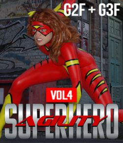 SuperHero Agility for G2F and G3F Volume 4