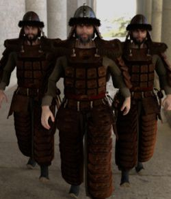 dForce Mongol Armor for Genesis 8 Male