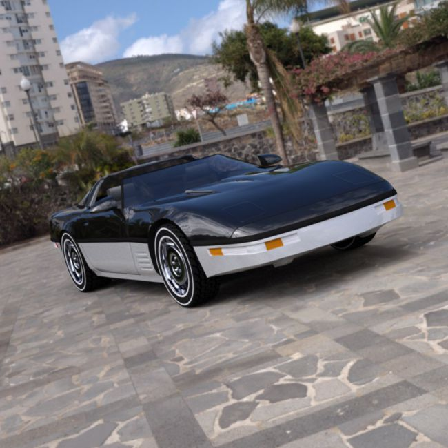 Corvette ZR-1 - for DAZ Studio