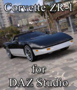 Corvette ZR-1- for DAZ Studio