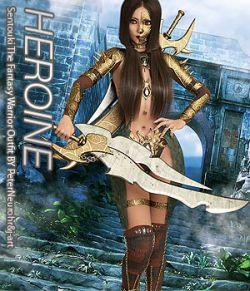 HEROINE- Sentouki The Fantasy Warrior Outfit