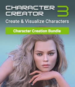 Character Creator 3- Character Creation Bundle